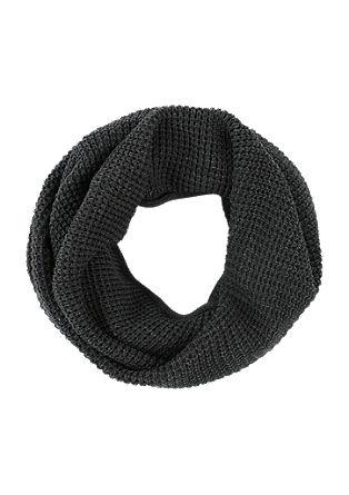 Loop aus Waffel-Piqué