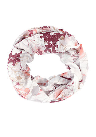 Loop mit Blumen-Print