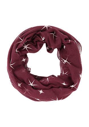 Loop mit filigranen Sternen