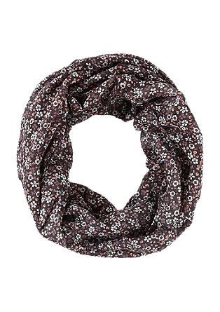 Loop mit floralem Muster