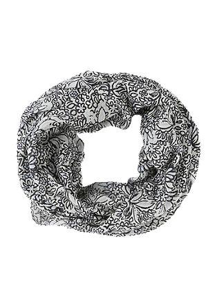 Loop mit floralem Musterprint
