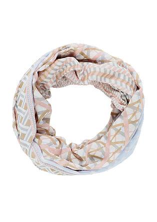 Loop šal prevelikega kroja z vzorcem