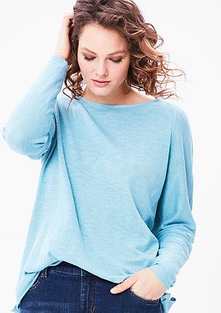 Luchtige, fijngebreide trui