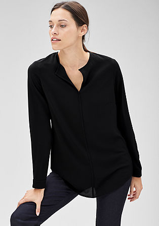 Luchtige crêpe blouse