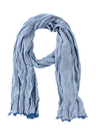 Luchtige sjaal met crinkles