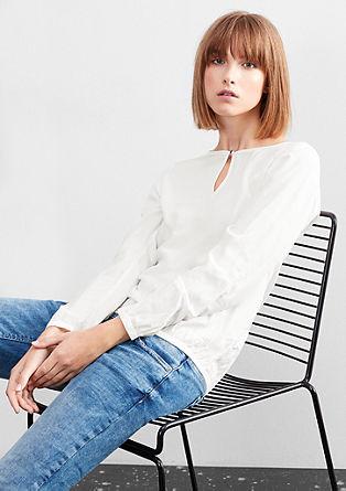 Luftige O-Shape-Bluse