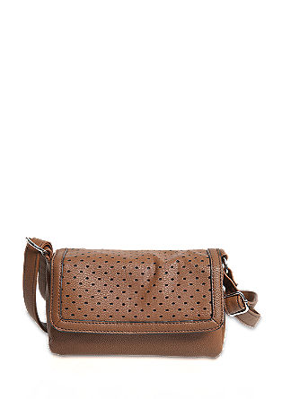 Majhna torbica z luknjičastim poklopcem