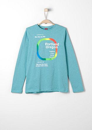 Majica dolg rokav s potiskom