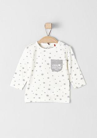 Majica dolg rokav z zvezdicami