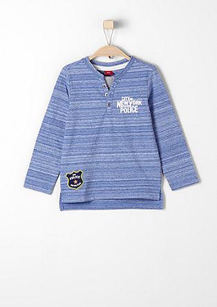 Majica Henley v policijskem slogu