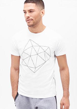 Majica iz džersija s potiskom spredaj