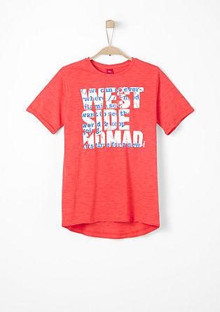 Majica iz džersija z napisom