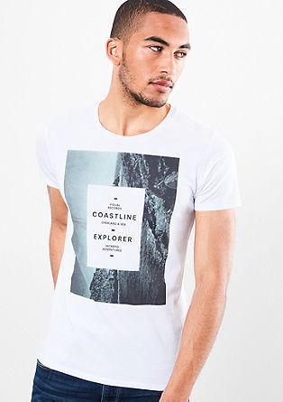 Majica iz džersija z natisnjeno fotografijo