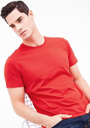 Majica kratek rokav z okroglim izrezom