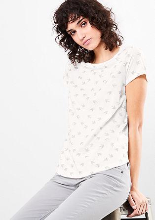 Majica s kovinskim vzorcem