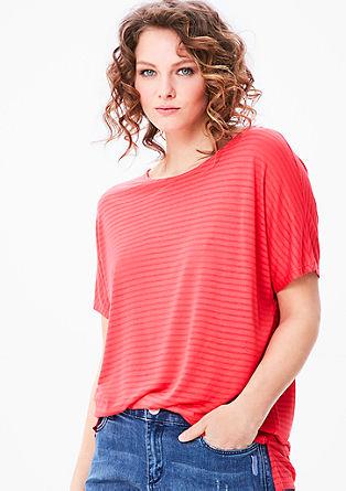 majica s kratkimi rokavi z jedkanim vzorcem