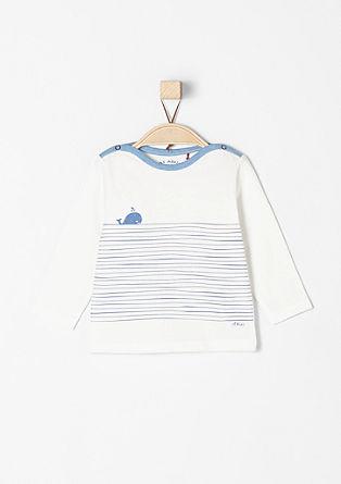 Majica z dolgimi rokavi, mornarski dizajn