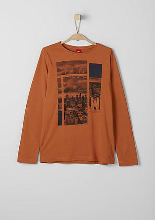 Majica z dolgimi rokavi s fototiskom