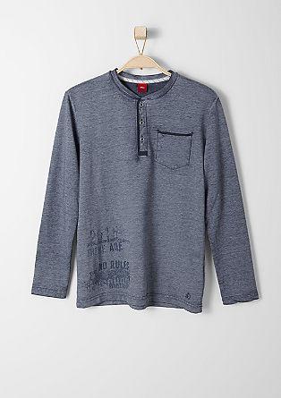 Majica z dolgimi rokavi v videzu spranosti