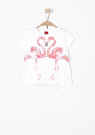 Majica z natisnjenim motivom flaminga
