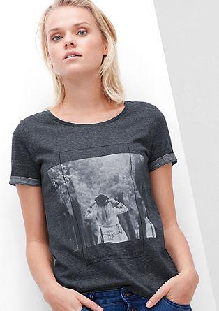 Majica z natisnjeno fotografijo
