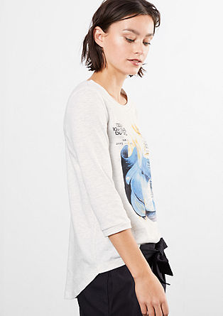 Majica z umetniškim potiskom