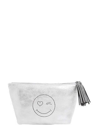Make-up bag in a metallic look from s.Oliver