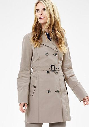Mantel im Trenchcoat-Look