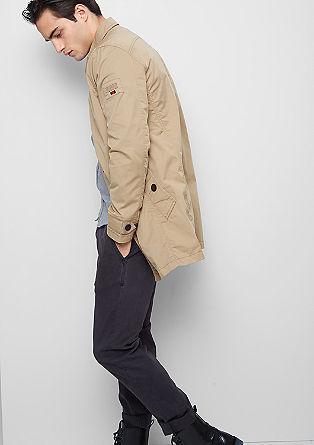 Mantel im Trenchcoat-Style