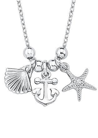 Maritieme zilveren halsketting