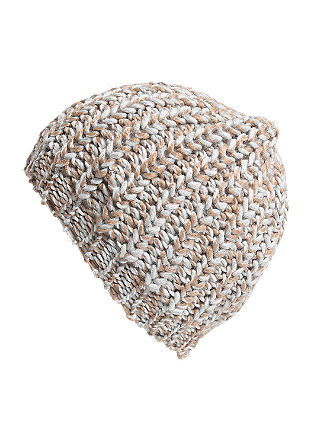 Marled chunky knit hat from s.Oliver