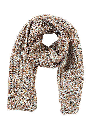 Marled chunky knit scarf from s.Oliver