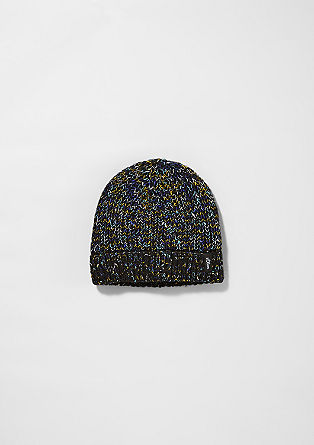 Marled knit hat from s.Oliver
