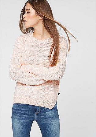 Marled knit jumper from s.Oliver