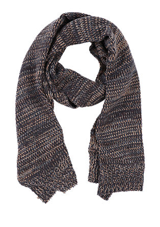 Marled knit scarf from s.Oliver