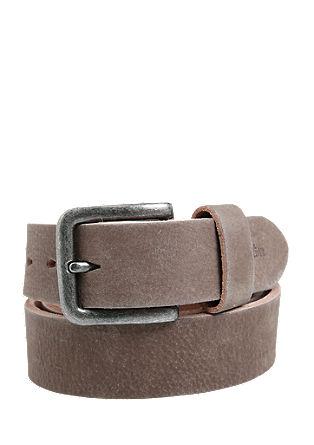 Maskuliner Ledergürtel im Vintage-Look