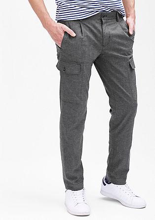 Mauro Slim: Stretch-Hose mit Taschen