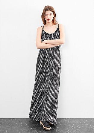Maxi-jurk met een motiefprint