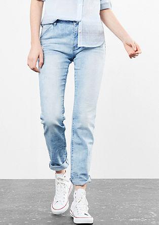 Megan Girlfriend: svetle jeans hlače