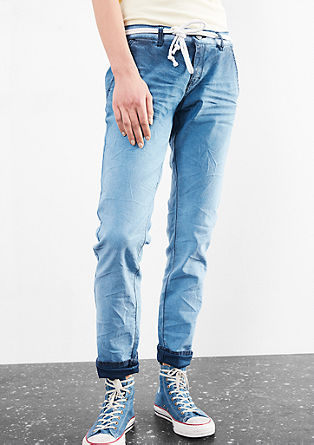 Megan Girlfriend: Twill trousers from s.Oliver