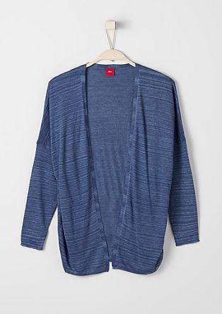 Melange fine knit cardigan from s.Oliver
