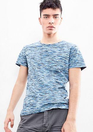 Melange jersey top from s.Oliver