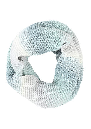 Melange knitted snood from s.Oliver
