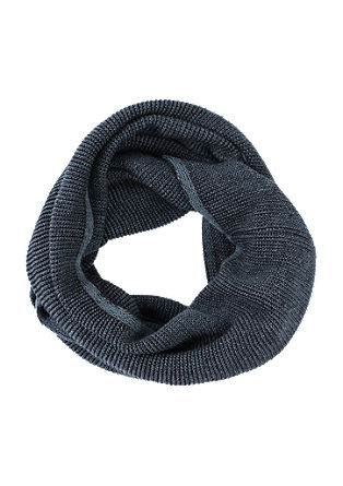 Melange look snood from s.Oliver
