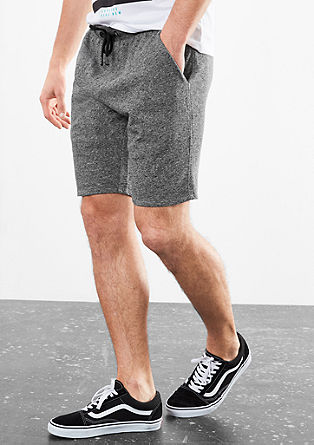 Melange sweat Bermudas from s.Oliver