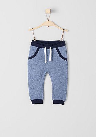 Melange sweat shorts from s.Oliver