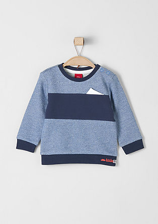 Melange sweatshirt from s.Oliver