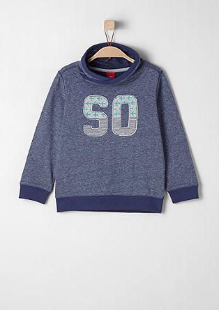 Melange sweatshirt from s.Oliver