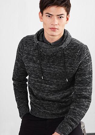 Melange wool blend jumper from s.Oliver