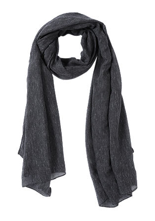 Melange woven scarf from s.Oliver